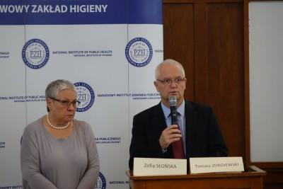dr n. hum. Zofia Słońska prof. nadzw. dr hab. med. Tomasz Zdrojewski