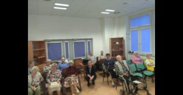 Warsztaty w Domu Emeryta Wojskowego w Warszawie