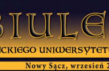 Przewietrz apteczkę! w Biuletynie Sądeckiego Uniwersytetu Trzeciego Wieku