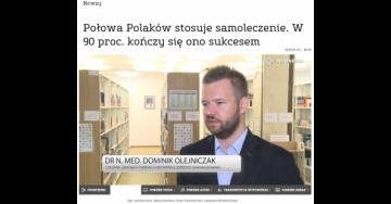 Połowa Polaków stosuje samoleczenie. W 90 proc. kończy się ono sukcesem