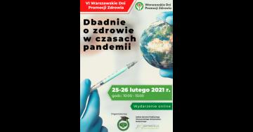 VI Warszawskie Dni Promocji Zdrowia