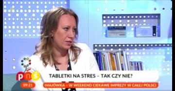 Dr Anna Staniszewska wPytaniu na Śniadanie