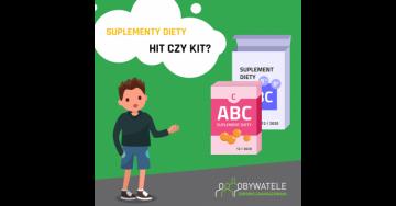 [BLOG #2] Suplementy diety - hit czy kit?