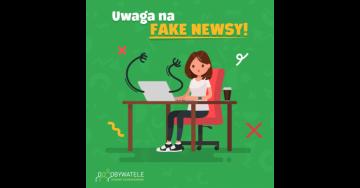 [Blog #105] Uwaga na Fake Newsy!