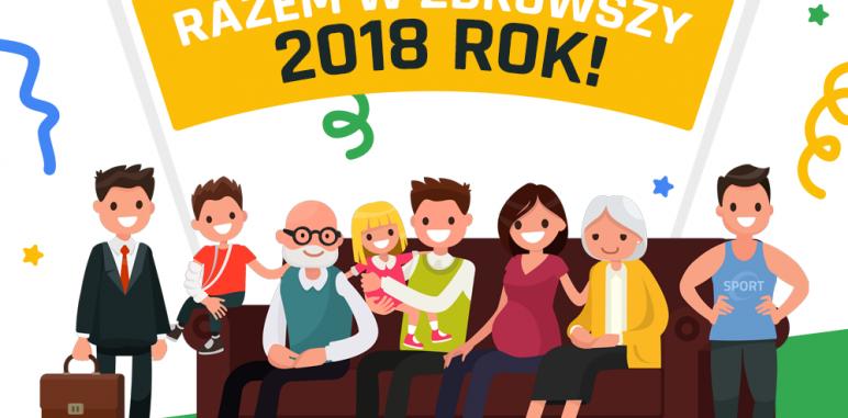 [BLOG #1] Razem w zdrowszy 2018 rok!