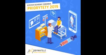[Blog #39] Priorytety w systemie ochrony zdrowia na 2019