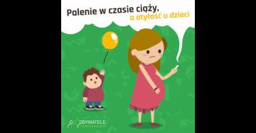 [Blog #48] Palenie w czasie ciąży, a otyłość u dzieci