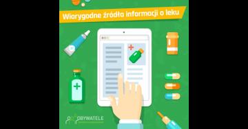 [Blog #54] Wiarygodne źródła informacji o leku